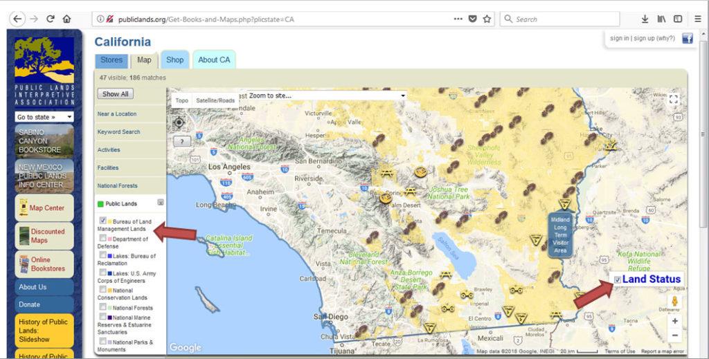 Where To Shoot Your Guns On Public Land Caligunner Com